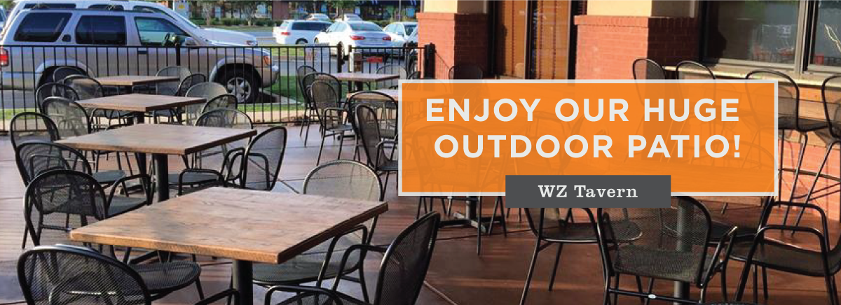 Enjoy Our Patio